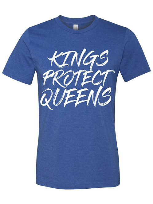 Kings Protect Queens (Crewneck) Blue