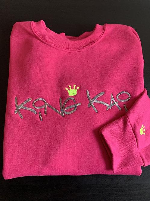 King Kai Sweatshirt (Cyber Pink)