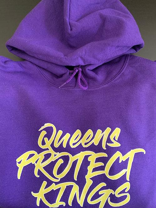 Queens Protect Kings Hoodie (Purple)