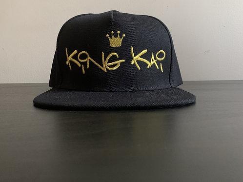King Kai Snapback (Black/Gold)