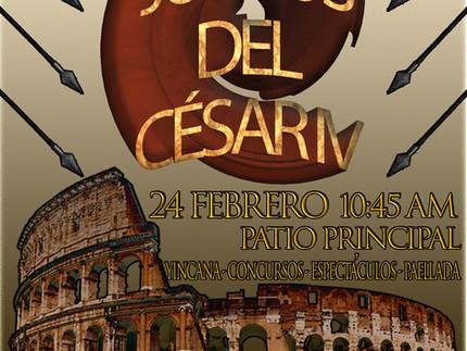 ¡Los Juegos del César IV se acercan!