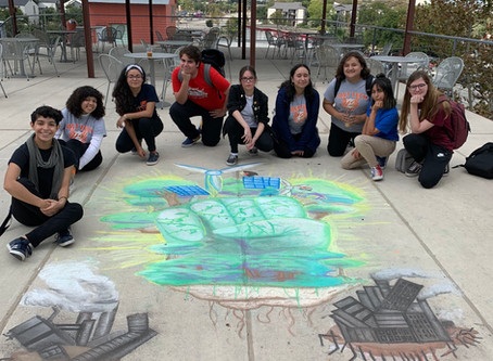 Chalk It Up at Artpace