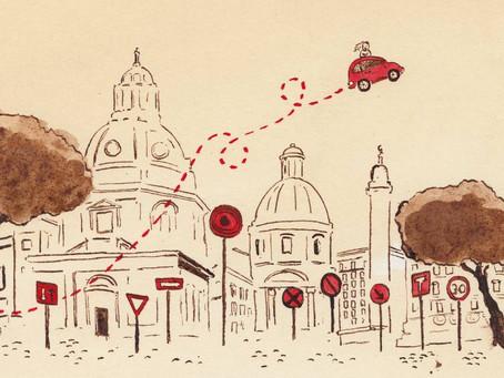 Driving like an Italian