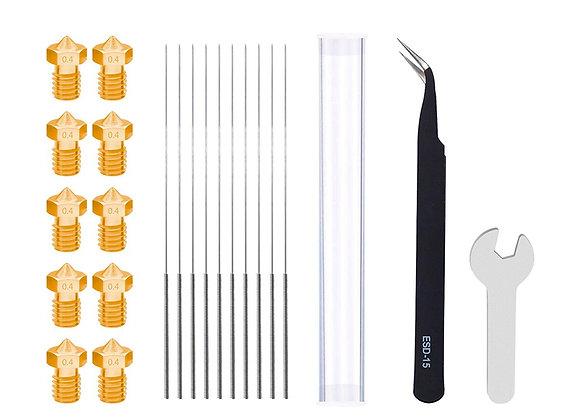 E3DV6 0.4mm / 1.75mm Nozzle Kit