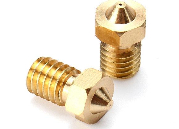 Nozzle 0.5 mm 1.75 mm M6 thread