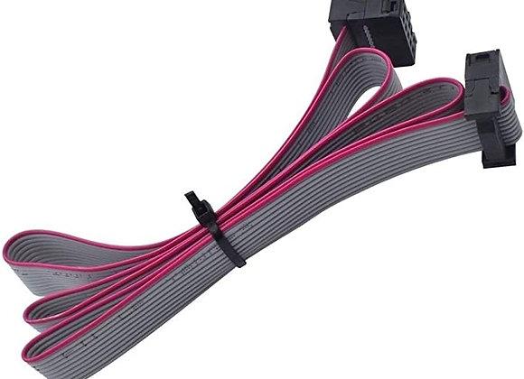 60CM 10PIN Cable Pantalla Táctil LCD2004/LCD12864