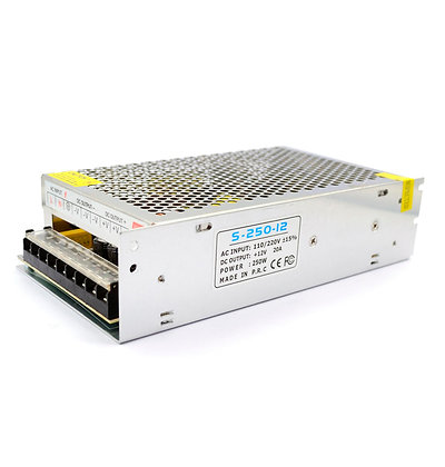 Adaptador 12V-250W-20A  Constant Voltage Switching Power Supply