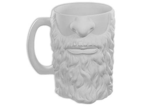 Bearded Beer Stein Mug
