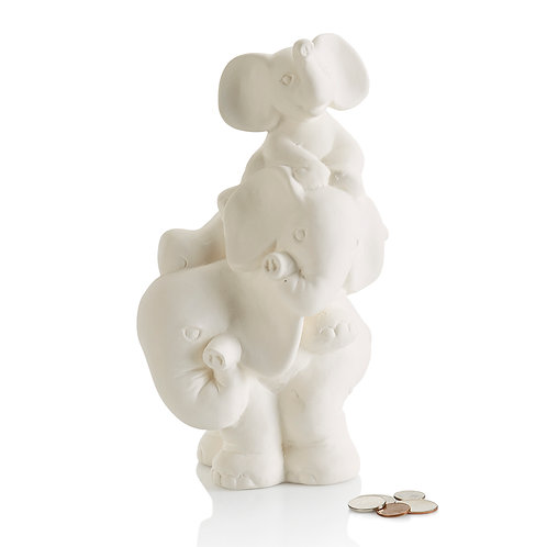 Stack Of Elephants Bank