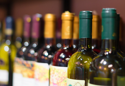 Wine Bottle Sluming