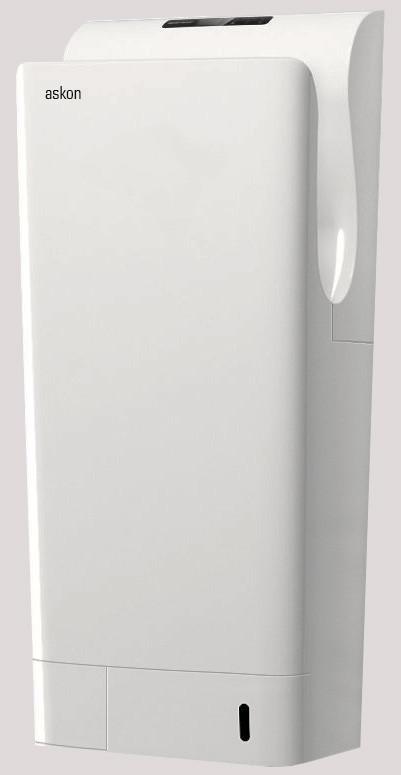 Jet Hand Dryer in white