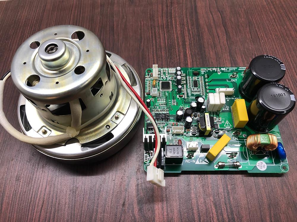 BLDC motor for hand dryer