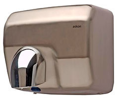 hand and face hand dryer stainless steel