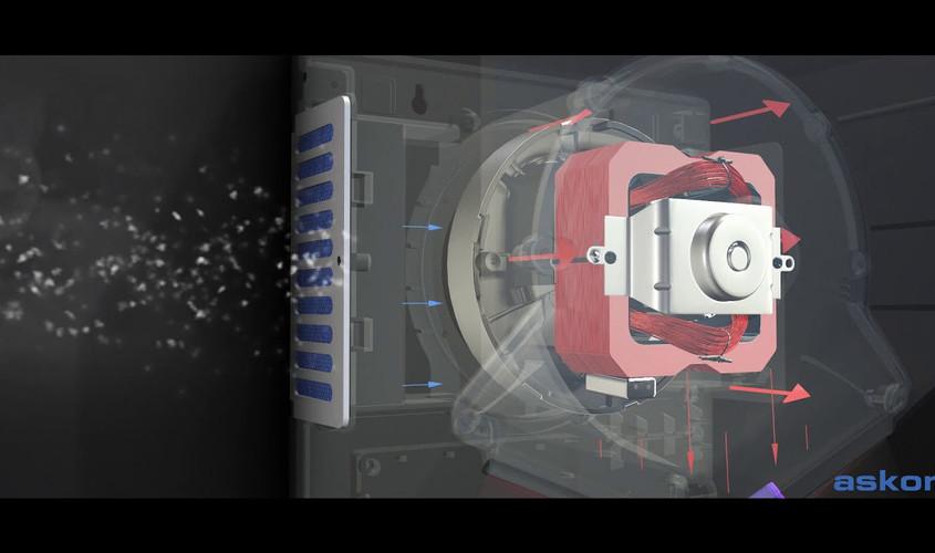 V jet Hand Dryer
