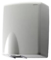 steel hand dryer white colour