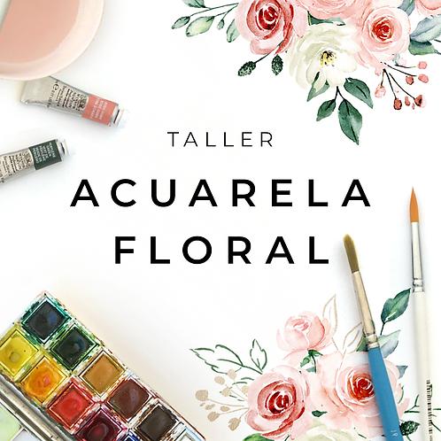 Taller Acuarela Floral