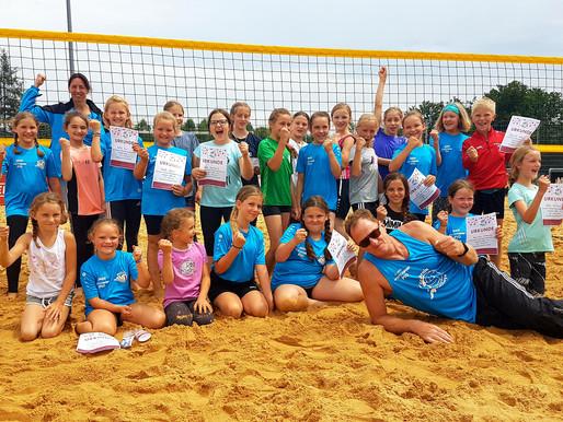 1. Bambini Beach Cup der Lechrain Volleys