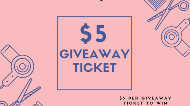 March 2019 Giveaway Ticket