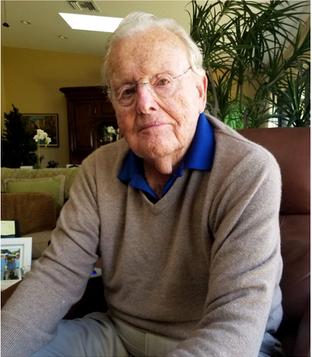 Bob Shumway, 96, from Amherst, Mass.