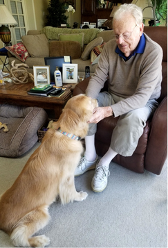 Bob Shumway, 96, from Amherst, Mass., pl