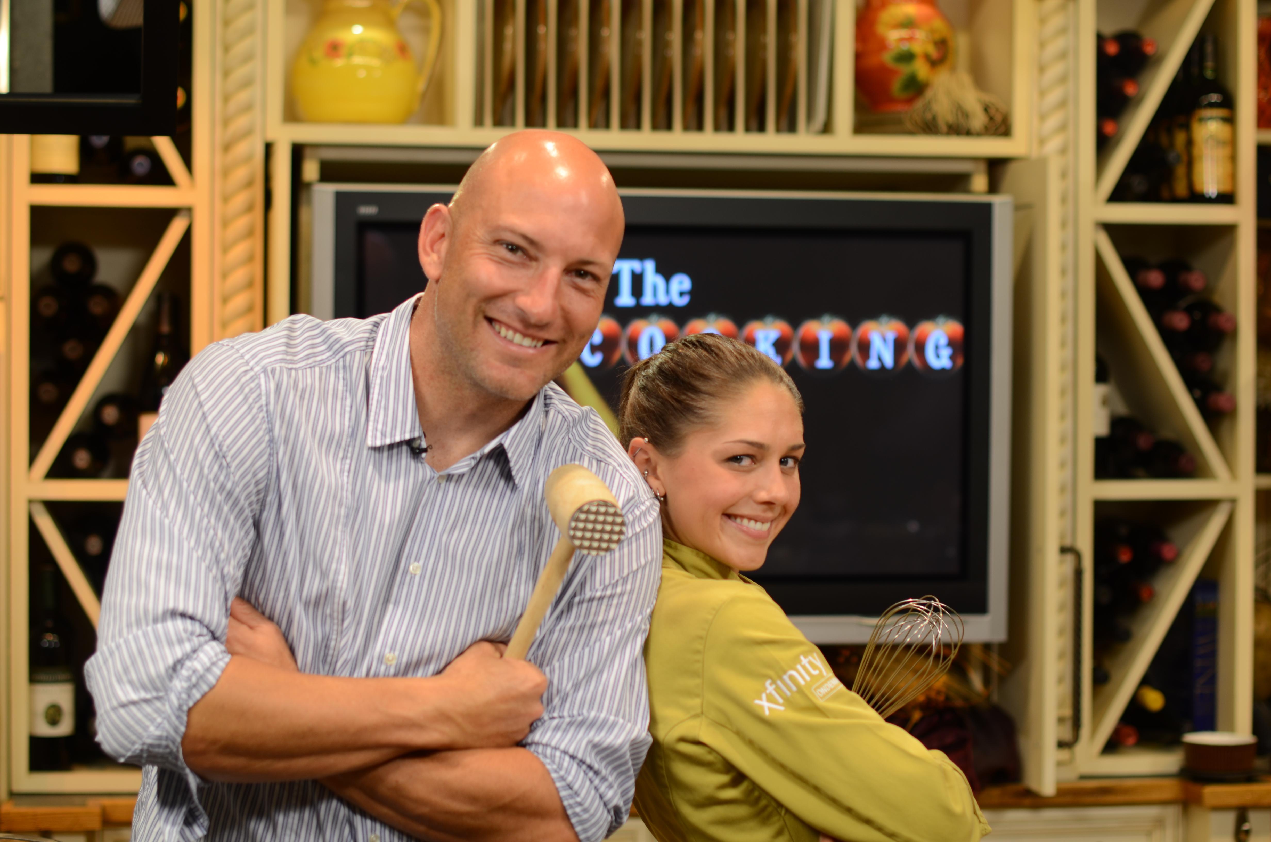 Matt Reis and Chef Liz Bramwell