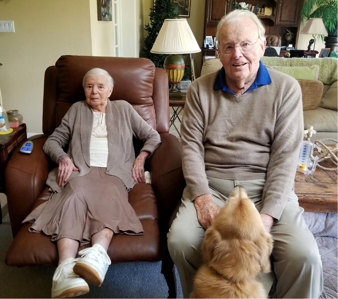 Ellie Shumway, 93, from Amherst, Mass.,