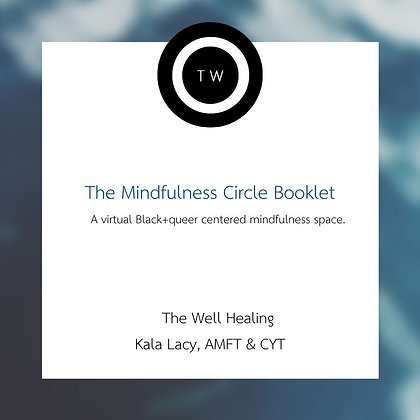 The Mindfulness Circle Booklet