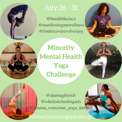 Minority Mental Health Yoga Challenge Flyer (1)