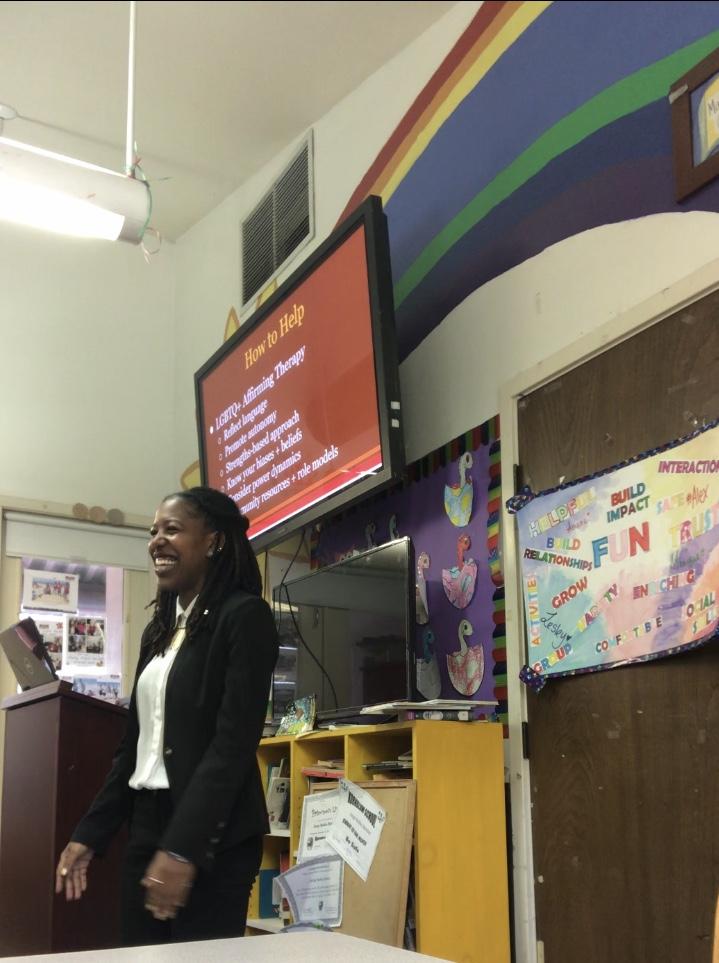 LGBTQ+ Affirmative Presentation