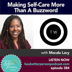 Making Self-Care More Than a Buzzword