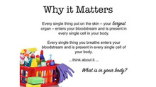Toxins in our Home - Cleaning