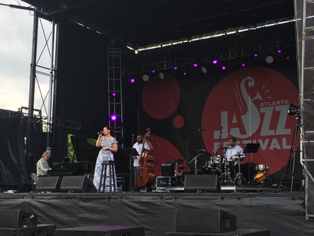 2018 YEAR IN REVIEW -- Alexandra Jackson is part of Atlanta Jazz Fest legacy