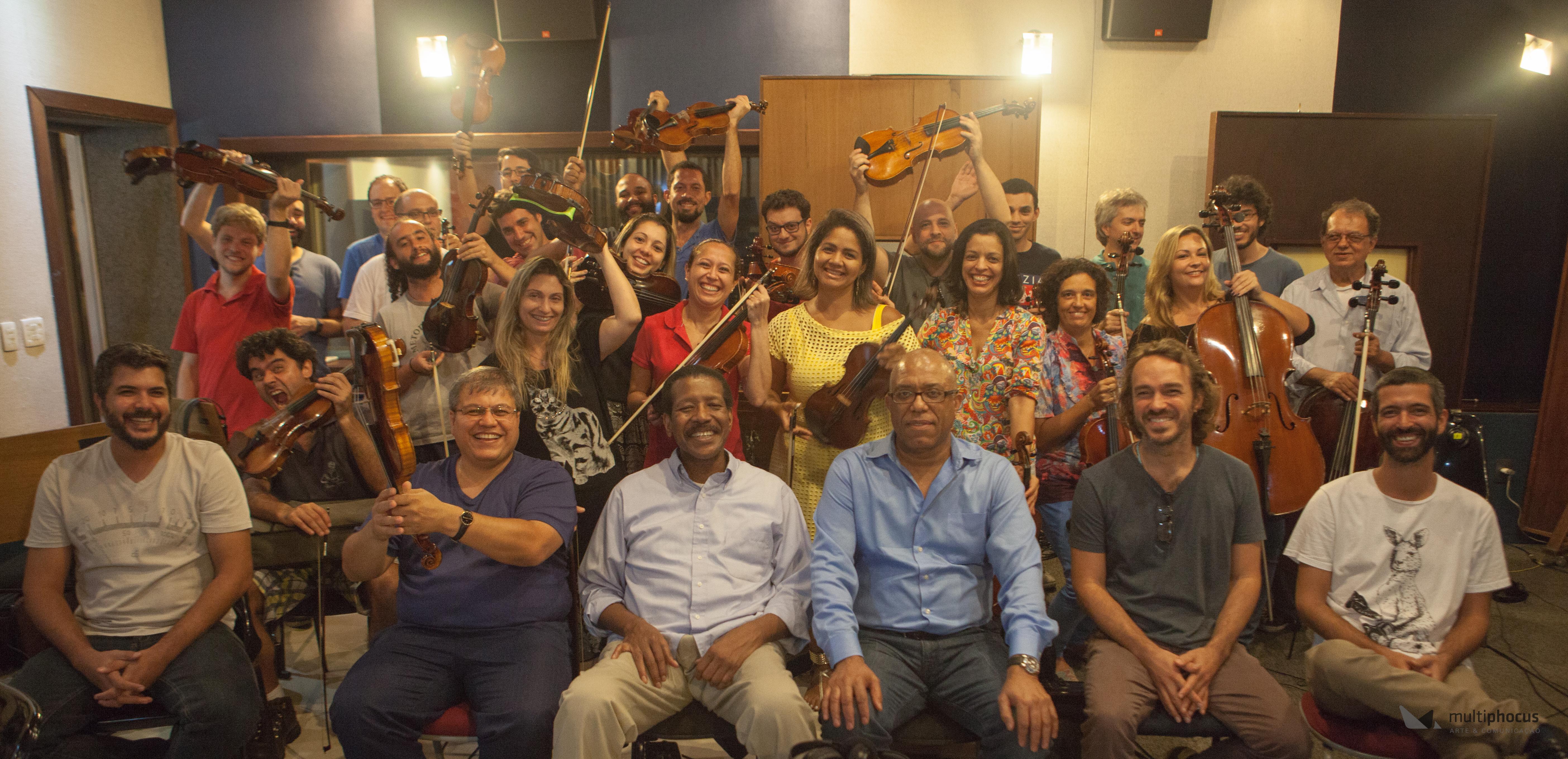 Bossa Nova Noites Oquestra in Studio