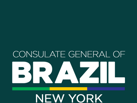 """The Brazilian Consulate in New York signs aboard to support the January 7th """"The Brazil Concert"""