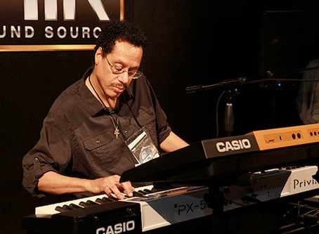 Keyboard Master, Larry Dunn from Earth, Wind and Fire!