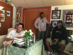 Larry Dunn, Darryl Jones, and Vince Wilburn Jr.