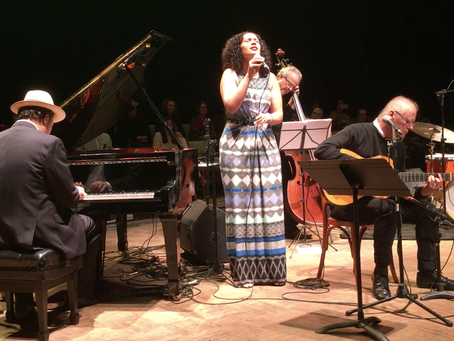 FLASHBACK!  2016 Rio de Janeiro Olympics:  Alexandra Jackson performs with The Jobim Trio