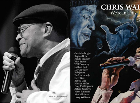 CHRIS WALKER is featured on saxophonist Dave Koz's new Christmas album.