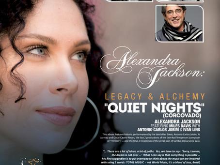 """""""Corcovado"""" (""""Quiet Nights, Quiet Stars"""") Alexandra Jackson featuring Miles Davi"""