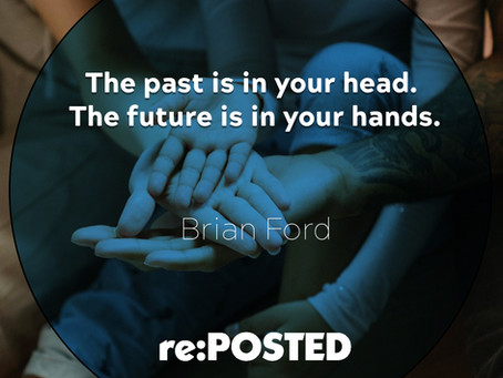 Guest Brandon Doble - The past is in your head. The future is in your hands.