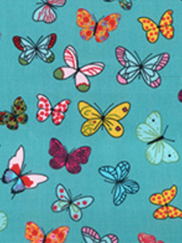 Butterfly Rose&Hubble reusable gift wrap - furoshiki