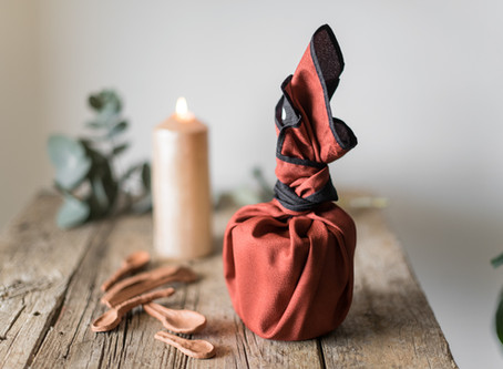 Why we need to swap paper for fabric - sustainable gift wrapping that will change your life.
