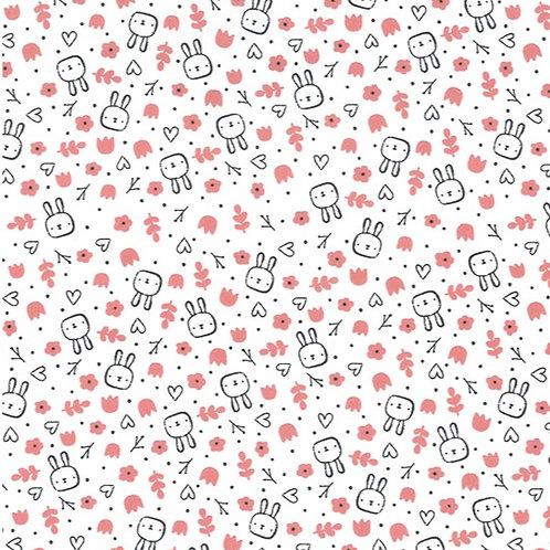 John Louden Cotton Bunny reusable fabric gift wrap