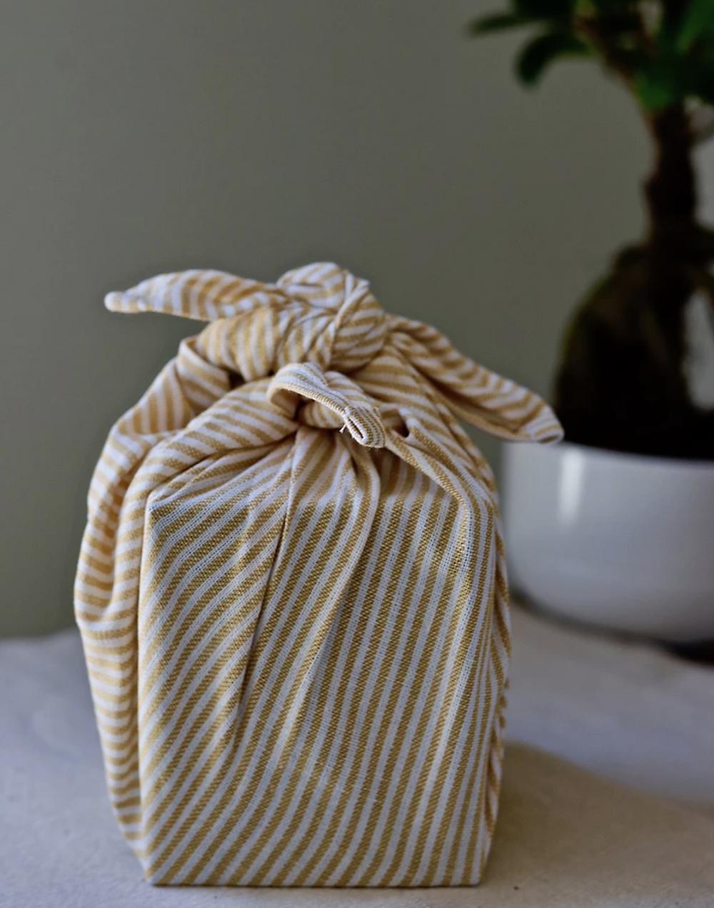 Wrapuccino, learn furoski, sustainable wrapping