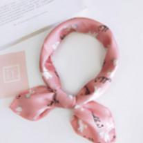 Pink Playtime - Patterned Satin