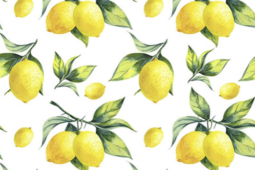 Cotton Lemon reusable gift wrap - furoshiki