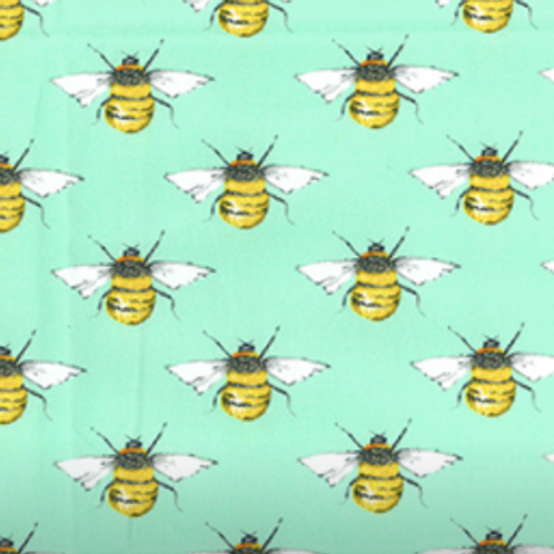Minty Bees Rose & Hubble reusable fabric gift wrap/scarf