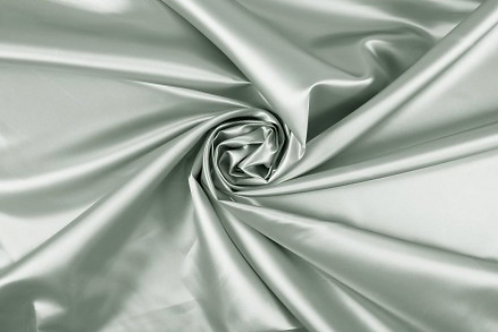 Silver Satin - reusable fabric furoshiki gift wrap/scarf