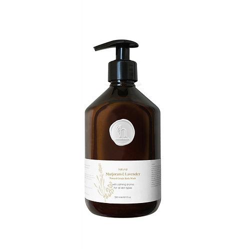 Marjoram & Lavender Natural Gentle Body Wash