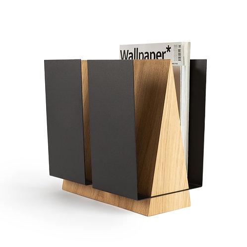 Standing Modern magazine holder